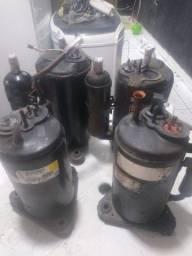 Vendo compressor rotativo
