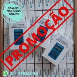 Kit 10 Point Mini Blue Mercado Pago na Promoção por Tempo Limitado