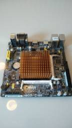 Placa mãe Asus J18001 com processador Celeron