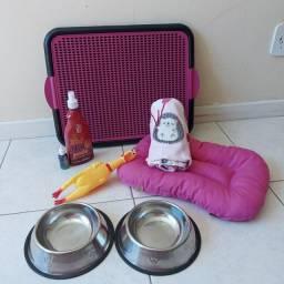 KIT Luxo para Cães completo Tamanho P