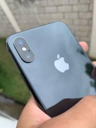 iPhone X 256gb ( tudo funciona, Face ID ?) troca em iPhone 7+
