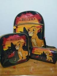 Kit mochila Rei Leão Disney Pacific
