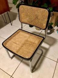 Cadeira Cesca - Marcel Breuer - Madeira e Palhinha