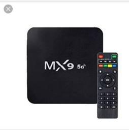 Tv box mxq 4k 64 gb de memória interna nova na caixa