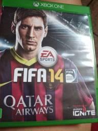 Vendo Jogo para Xbox one Fifa 2014