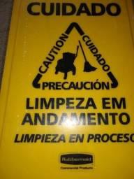 Placa sinalização