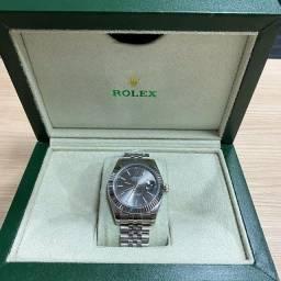 Relógio ROLEX Datejust / cinza