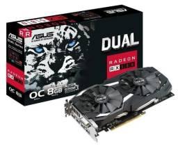 AMD Asus Dual Radeon RX 580 DUAL-RX580-O8G OC Edition 8GB