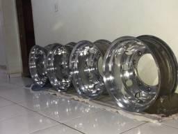 Rodas de alumínio 22.5 caminhão !!