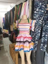Vestidos de festa de quadrilha
