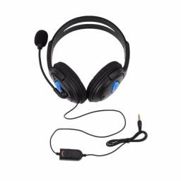 Headset Fone De Ouvido Ps4 Playstation 4 Jogos Online Skype