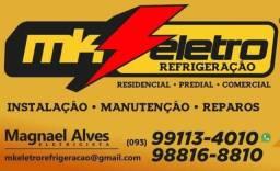 MK ELETRO CONSTRUÇÃO  INSTALAÇÃO E REFRIGERAÇÃO
