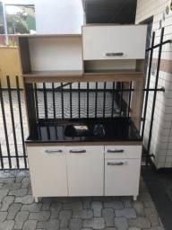 Cozinha Compacta com Tampo