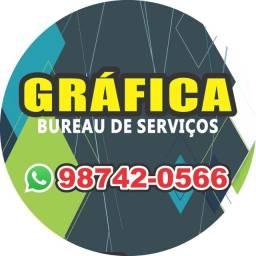 Gráfica bureau de serviço (zap 83 98742.0566)