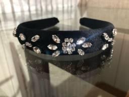 Tiara de luxo 100% cristais finos