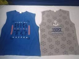 Bermudas e camisas