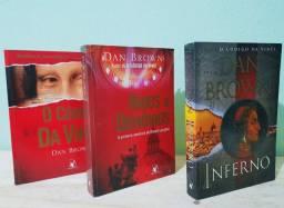 Coleção de livros Dan Brown.