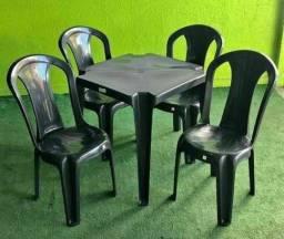 Título do anúncio: Jogo de cadeira com mesa plastica 182kg