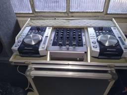 Som Profissional para DJs