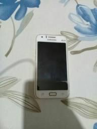 Celular Samsung Galaxy J1 Dual Branco ( QUEBRADO)