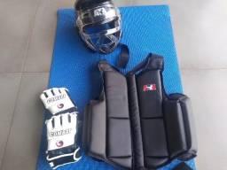 Kit completo de proteção de luta ATA