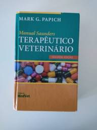 Livro Medicina Veterinária - Manual Saunders Terapêutico Veterinário