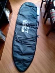 Linda capa de prancha de surf novinha, HighPoint preta