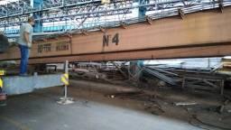 Ponte Rolante Mendes Junior 10 Toneladas 22 Metros De Vão