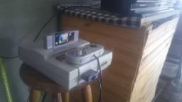 Vídeo game e televisão 500reais