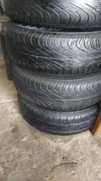 Vendo um jogo de rodas com pneus aro 13
