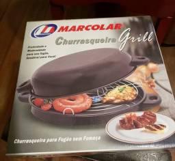 Panela Antiaderente Churrasqueira Grill