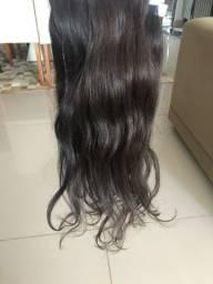 Cabelo human para mega hair