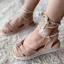 Sandálias Plataformas