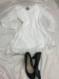 Novo Vestido branco