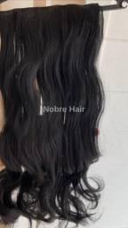 Extensão de cabelos em fibra orgânica