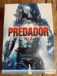DVD filme Predador 1 e 2