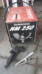 Máquina Transformadora de Solda 250A Turbo- Bambozzi