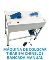 Título do anúncio: Máquina Fresadora de Chinelos 2×1 da Compacta Print