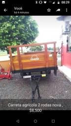Carreta agrícola 2 rodas