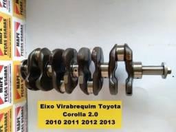 Eixo Virabrequim Toyota Corolla 2.0 2010 2011 2012 2013
