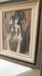 Quadro pintura em tela aceito troca por algo do meu interesse