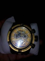 Relógio invicta zeus bolt dourado, ORIGINAL