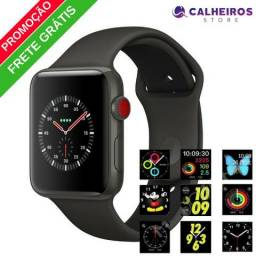 Relógio Inteligente Iwo 5 Iphone/samsung Lançamento + Frete
