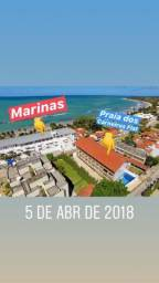 Flat no Marinas Beira Mar de Carneiros