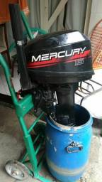 Motor Mercury 15 HP A/c parte no Cartão