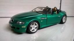 Miniatura BMW M3 1996 Roadster 1:18 Burago com detalhes!!!!