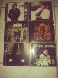 Coleção de CDs Michael Jackson