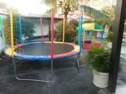 Alugo Pula Pula e piscina de bolinhas.