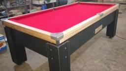 Mesa de bilhar modelo (hff473) pano vermelho