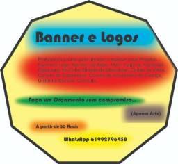 Logo, Banner. Artes Graficas em Geral